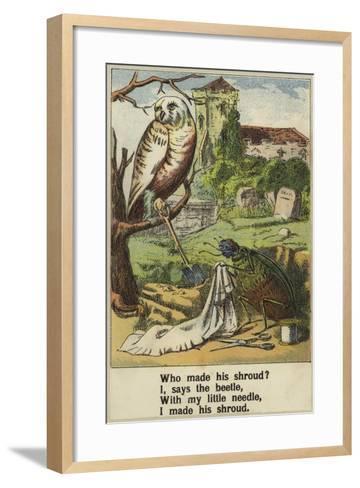 Cock Robin--Framed Art Print