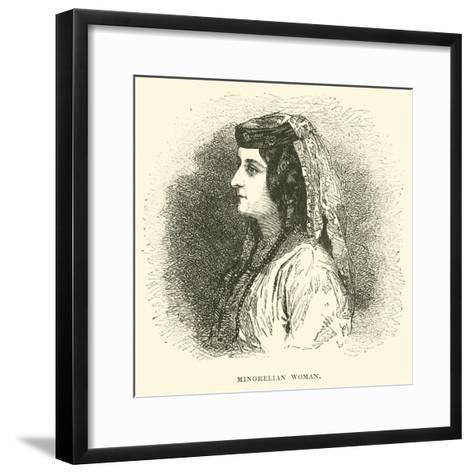 Mingrelian Woman--Framed Art Print