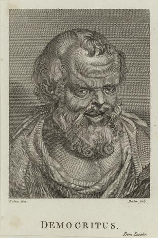Democritus-Peter Paul Rubens-Stretched Canvas Print