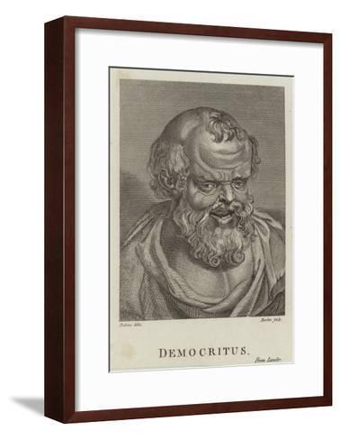 Democritus-Peter Paul Rubens-Framed Art Print