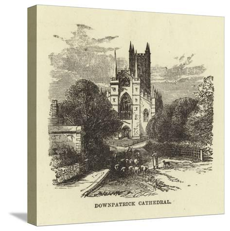 Downpatrick Cathedral--Stretched Canvas Print