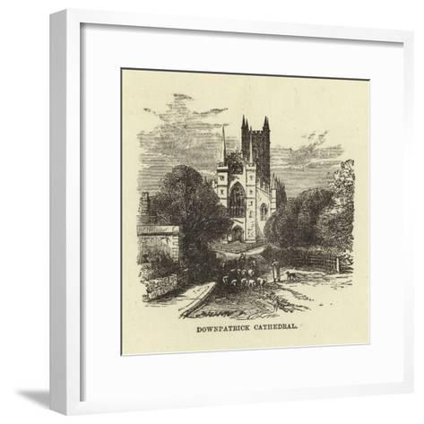 Downpatrick Cathedral--Framed Art Print