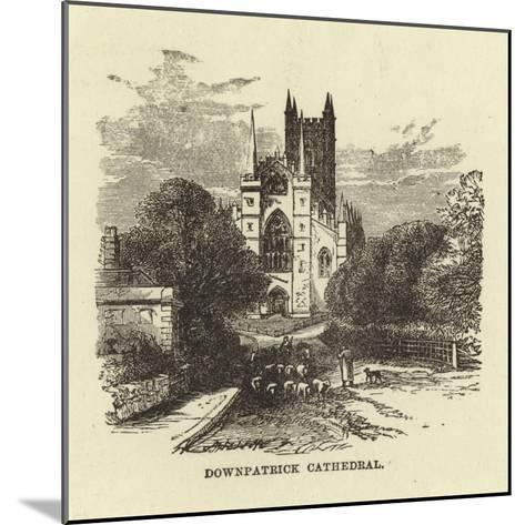 Downpatrick Cathedral--Mounted Giclee Print