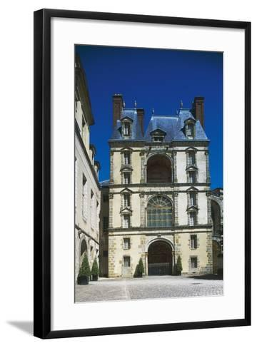 Palace of Fontainebleau--Framed Art Print