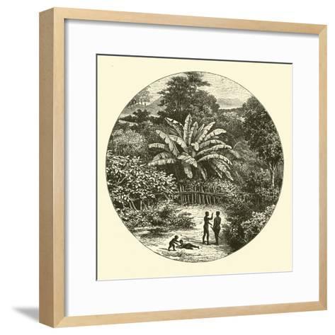 West Africa--Framed Art Print