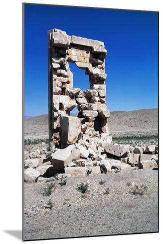 Ruins of the Archaeological Site of Pasargad--Mounted Photographic Print