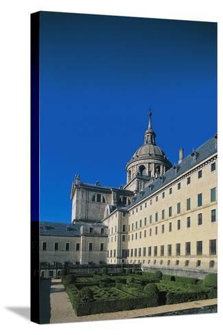 Monastery of San Lorenzo De El Escorial--Stretched Canvas Print