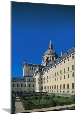 Monastery of San Lorenzo De El Escorial--Mounted Giclee Print