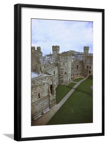 UK, Wales, Caernarfon Castle--Framed Art Print