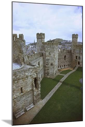 UK, Wales, Caernarfon Castle--Mounted Giclee Print