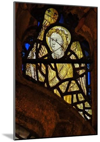 Window S3 Depicting an Angel with a Censer--Mounted Giclee Print