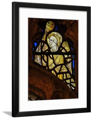 Window S3 Depicting an Angel with a Censer--Framed Art Print