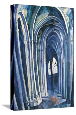 Saint-S?verin #1, 1909-Robert Delaunay-Stretched Canvas Print
