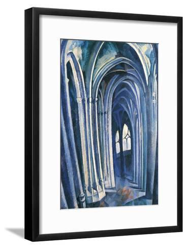 Saint-S?verin #1, 1909-Robert Delaunay-Framed Art Print