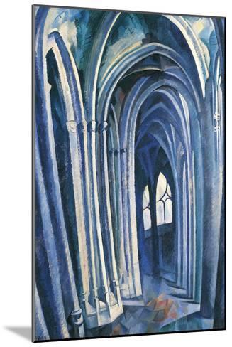 Saint-S?verin #1, 1909-Robert Delaunay-Mounted Giclee Print
