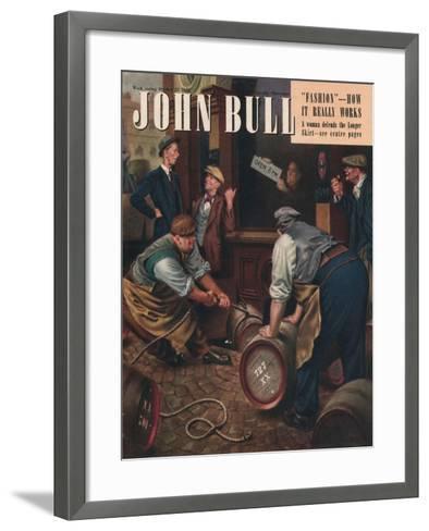 Front Cover of 'John Bull', October 1947--Framed Art Print