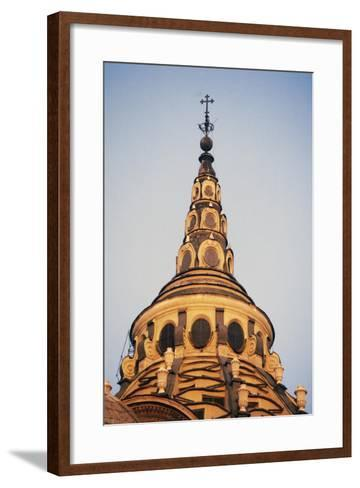 Interior of the Cupola, Chapel of the Holy Shroud--Framed Art Print