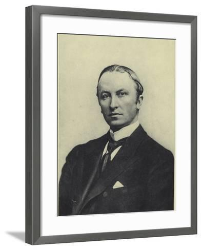 Lord Curzon, Viceroy of India--Framed Art Print