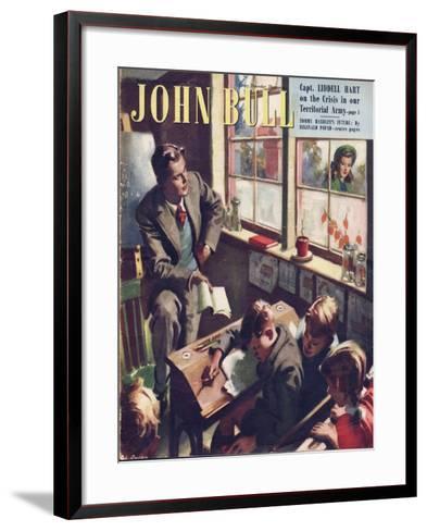 Front Cover of 'John Bull', September 1948--Framed Art Print
