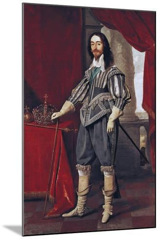 Portrait of Charles I--Mounted Giclee Print