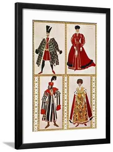 Costume Sketches-Leon Bakst-Framed Art Print