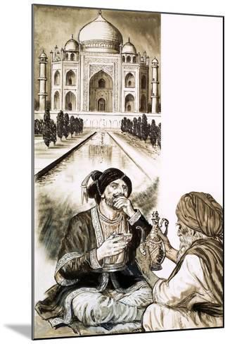 Shah Jehan and the Taj Mahal--Mounted Giclee Print