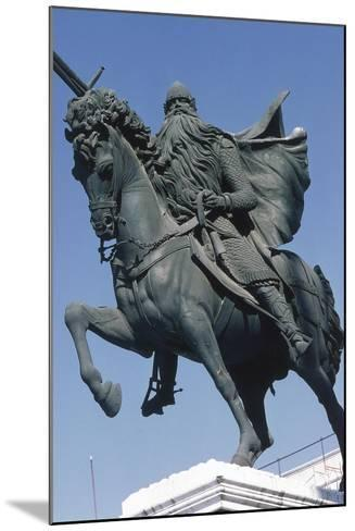Equestrian Statue of El Cid--Mounted Giclee Print