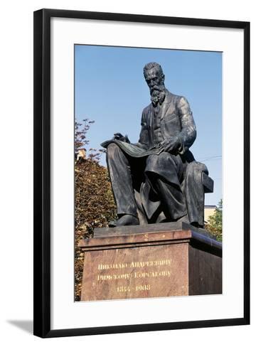 Nikolai Rimsky-Korsakov Statue--Framed Art Print