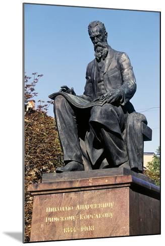 Nikolai Rimsky-Korsakov Statue--Mounted Giclee Print