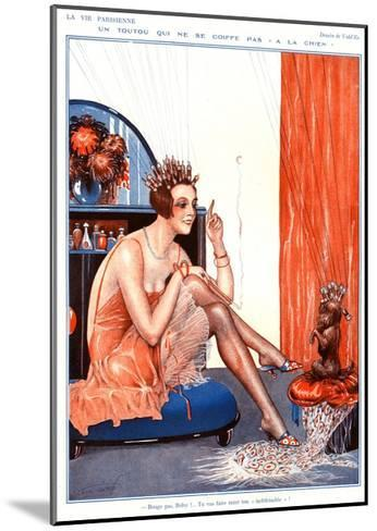 Illustration from La Vie Parisienne, 1920s--Mounted Giclee Print