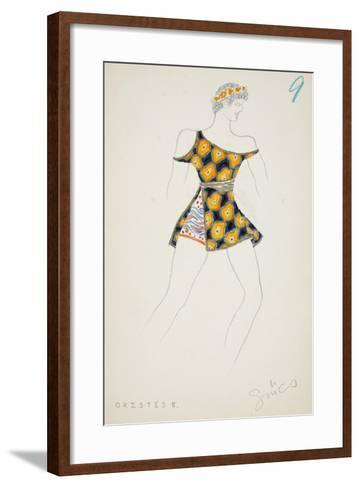 Orestes II, 1928--Framed Art Print