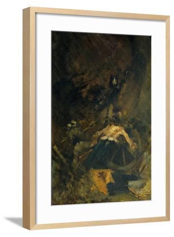 Fall, 1886-Gaetano Previati-Framed Art Print