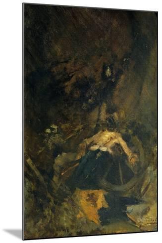 Fall, 1886-Gaetano Previati-Mounted Giclee Print