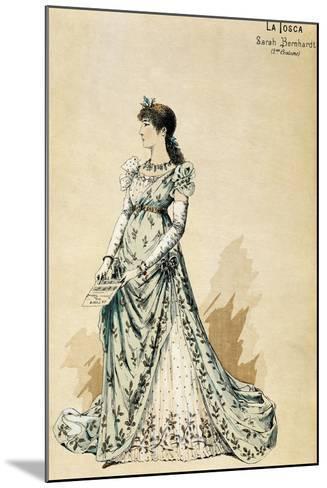 Second Costume for Actress Sarah Bernhardt--Mounted Giclee Print