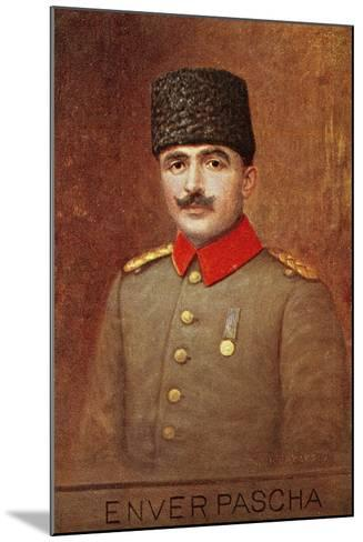 Portrait of Ismail Enver or Enver Pasha--Mounted Giclee Print