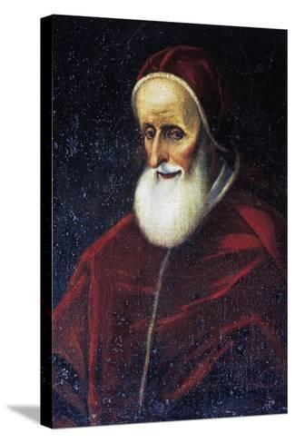 Portrait of Pope Pius V--Stretched Canvas Print