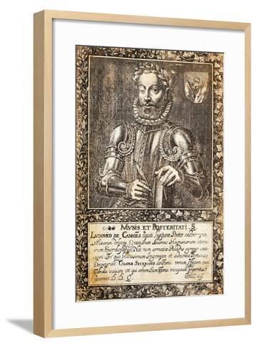 Portrait of Luis Vaz De Camoes--Framed Art Print