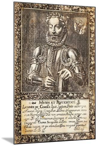 Portrait of Luis Vaz De Camoes--Mounted Giclee Print