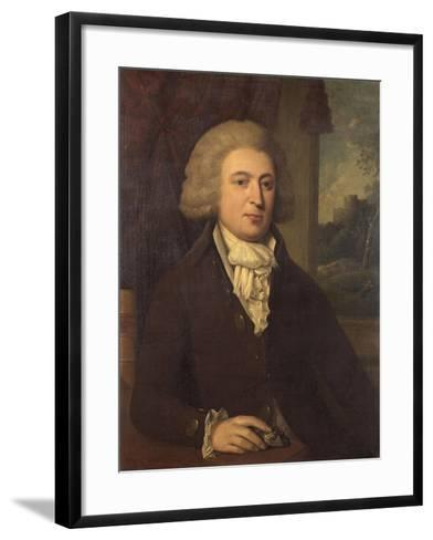 Unknown Gentleman with a Mineral Specimen, C.1790--Framed Art Print