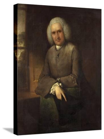 Dr Abel Moysey, C.1765-Thomas Gainsborough-Stretched Canvas Print