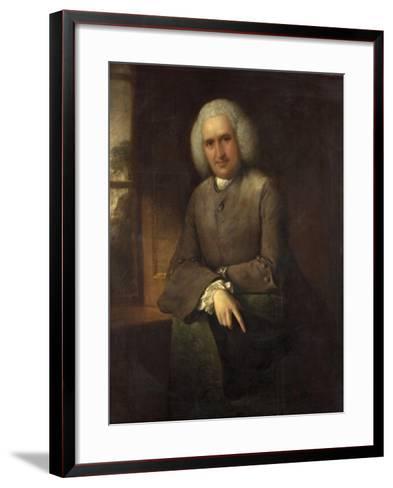 Dr Abel Moysey, C.1765-Thomas Gainsborough-Framed Art Print