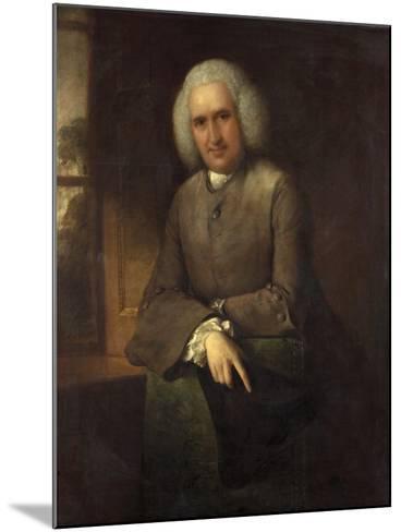 Dr Abel Moysey, C.1765-Thomas Gainsborough-Mounted Giclee Print
