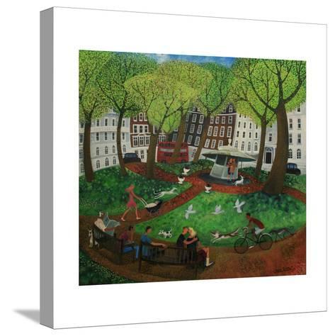Berkeley Square, 2013-Lisa Graa Jensen-Stretched Canvas Print