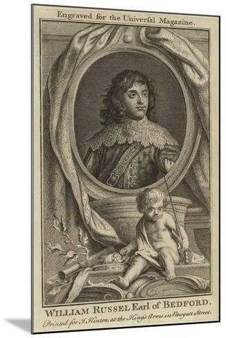 William Russel, Earl of Bedford--Mounted Giclee Print