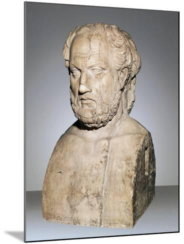 Bust of Thucydides--Mounted Giclee Print
