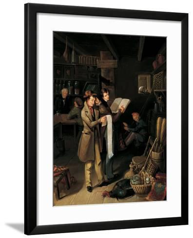 The Long Bill, 1760-James Henry Beard-Framed Art Print