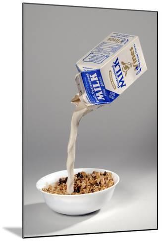 Fake Milk Carton and Bowl, from a Joke Shop--Mounted Giclee Print
