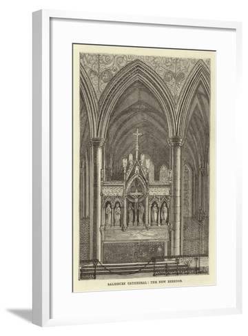 Salisbury Cathedral, the New Reredos--Framed Art Print