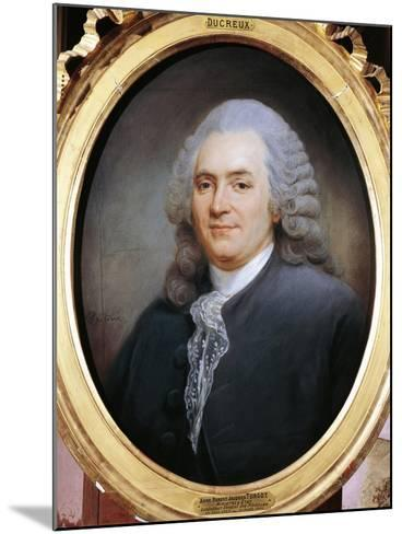 Portrait of Anne-Robert Jacques Turgot--Mounted Giclee Print