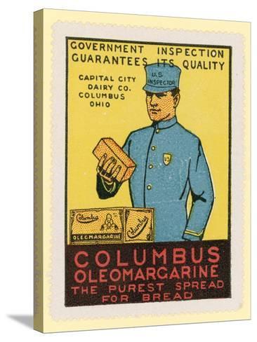 Columbus Oleomargarine--Stretched Canvas Print